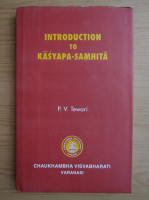 P. V. Tewari - Introduction to Kasyapa-Samhita