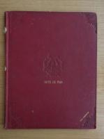 Puiu Cominovici - Note de pian (8 partituri, 1900)