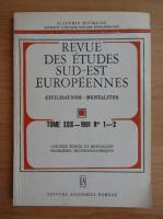 Anticariat: Revue des Etudes Sud-Est Europeennes, vol. 19, nr. 1-2, 1991