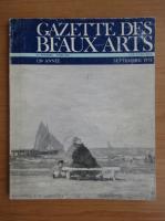 Gazette des beaux-arts, anul 120, volumul 42, nr. 1316, septembrie 1978