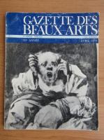 Gazette des beaux-arts, anul 121, volumul 43, nr. 1323, aprilie 1979