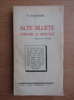 Anticariat: H. Eulenberg - Alte siluete literare si artistice (1928)