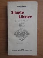 Anticariat: H. Eulenberg - Siluete literare (1928)