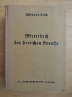 Anticariat: P. F. L. Hoffmann - Worterbuch der deutschen Sprache (1944)