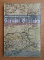 Anticariat: Revista Carmina Balcanica, anul 3, nr. 1, mai 2010