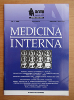 Anticariat: Revista Medicina interna, volumul 6, nr. 3, 2009