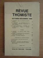 Anticariat: Revue Thomiste, nr. 4, octombrie-decembrie 1990