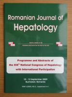 Anticariat: Romanian Journal of Hepatology, anul 5, volumul 5, nr. 1, 2009