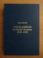 Anticariat: Sigurd Bratlie - Articole publicate in Skjulte Skatter 1929-1952