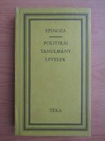 Anticariat: Spinoza - Politikai tanulmany. Levelek