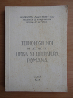 Anticariat: Tehnologii noi in lectiile de limba si literatura romana
