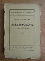 Anticariat: Alexandru Tilman Timon - Malebranche (volumul 2, 1947)