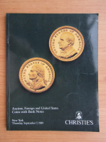 Anticariat: Ancient, foreign and United States coins with bank notes