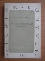 Anticariat: Balazs Andras - Az agy es ertelem eredete