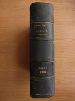 Anticariat: Colectiune de legi si regulamente (volumul 16, partea I, 1936)
