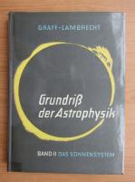 Anticariat: Grundriss der astrophusik, volumul 2. Das Sonnensystem