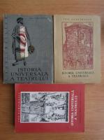 Anticariat: Ion Zamfirescu - Istoria universala a teatrului (3 volume)