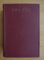 Anticariat: Johann Wolfgang Goethe - Werke (volumele 1-4, 1909)