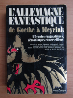 Anticariat: L'Allemagne fantastique de Goethe a Meyrink