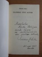 Anticariat: Mircea Belu - Tacerile unui actor (cu autograful autorului)
