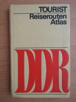 Anticariat: Reiseroutenatlas DDR