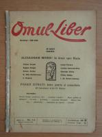 Anticariat: Revista Omul Liber, anul II, nr. 3-4, ianuarie-februarie 1925