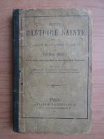 Anticariat: Victor Duruy - Petite histoire sainte (1870)