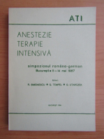 Anticariat: Anestezie. Terapie intensiva