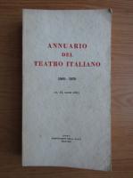 Anticariat: Annuario del teatro italiano, nr. 15
