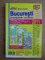 Anticariat: Atlasul orasului Bucuresti si imprejurimile