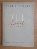 Anticariat: Eugen Frunza - Zile slavite