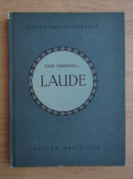 Anticariat: Ioan Maragall - Laude (1922)