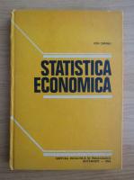 Anticariat: Ion Capanu - Statistica economica