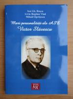 Anticariat: Ion D. Rosca - Mari personalitati ale ASE. Victor Slavescu