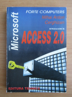 Anticariat: Mihai Anton Cerghizan - Introducere in Access 2.0