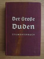 Anticariat: Otto Basler - Der grosse Duden (1934)