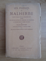 Anticariat: Ph. Martinon - Les poesies de Malherbe (1926)