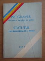 Anticariat: Programul si statutul Partidului Socialist al Muncii