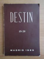 Anticariat: Revista Destin, nr. 19-20, 1969