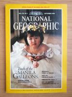 Revista National Geographic, vol. 178, nr. 3, septembrie 1990