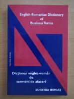 Eugenia Irimias - Dictionar englez-roman de termeni de afaceri