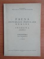 Fauna Republicii Populare Romane. Insecta (volumul 10, fascicula 1)