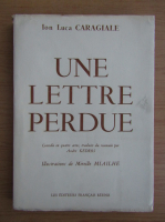 Ion Luca Caragiale - Une lettre perdue