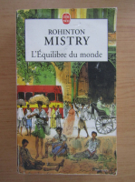 Rohinton Mistry - L'equilibre du monde