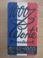 Anticariat: 1000 Worte franzosisch
