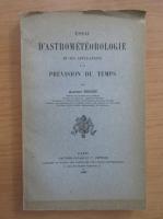 Albert Nodon - Essai d'astometerologie