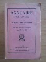 Annuaire pour l'an 1935