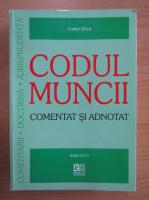 Costel Gilca - Codul muncii. Comentat si adnotat