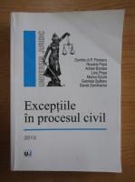 Dumitru A. P. Florescu - Exceptiile in procesul civil