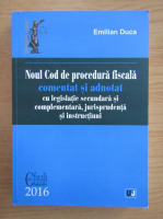 Emilian Duca - Noul Cod de procedura fiscala
